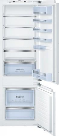 Bosch Einbau-Kühl-/Gefrier-Kombination Flachscharnier KIS87AF30 EEK: A++