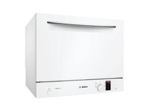 Bosch Geschirrspüler Kompakt Stand 55 cm Weiß SKS62E32EU