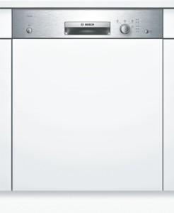 Bosch Silence Geschirrspüler integrierbar Edelstahl SMI24AS00E