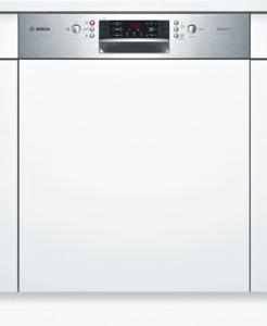 Bosch SilencePlus Geschirrspüler Edelstahl SMI46GS01E