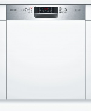 Bosch EXCLUSIV Geschirrspüler teilintegriert Edelstahl SMI46HS00D