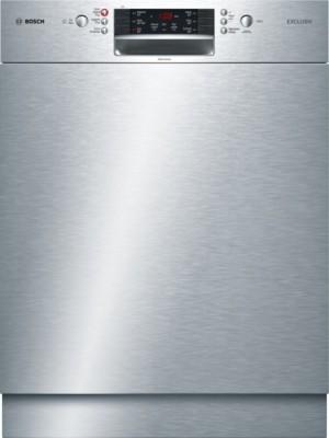 Bosch Geschirrspüler SuperSilence Unterbau Edelstahl SMU46MS00D