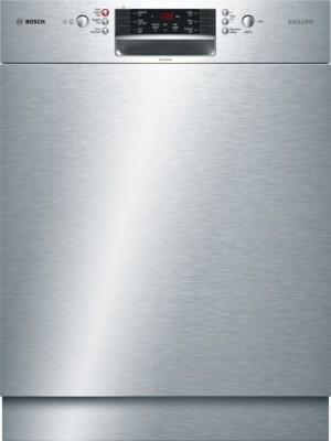Bosch Geschirrspüler SuperSilence Unterbau Edelstahl SMU46TS00D