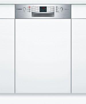 Bosch SuperSilence Geschirrspüler 45 cm Integrierbar Edelstahl SPI46IS01E
