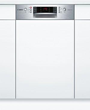 Bosch SuperSilence Geschirrspüler 45cm Integrierbar Edelstahl SPI66PS00E