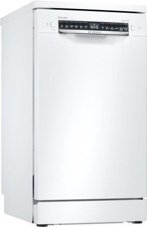 Bosch EXCLUSIV Geschirrspüler Stand weiß 45 cm SPS4ELW00D