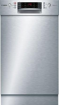 Bosch SuperSilence Geschirrspüler 45 cm Unterbaugerät - Edelstahl SPU66TS00E