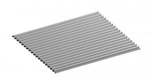 Dornbracht Suter Accento Alu-Pad Aluminium 84 710 001-82