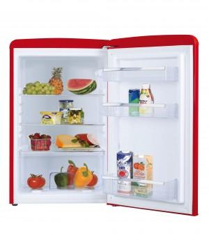 Amica Vollraum-Kühlschrank Retro Rot VKS 15620 R