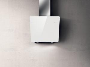 Elica Wandhaube L'ESSENZA WH/A/60 Weißes Glas 60 cm PRF0124233A
