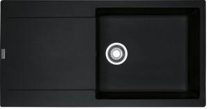 Franke Spüle Fragranit reversibel Onyx MRG 611-100XL 1140378126