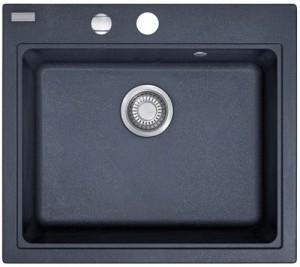 Franke MRG 610-58 584x520mm graphit + Siebkorb 114.0075.390