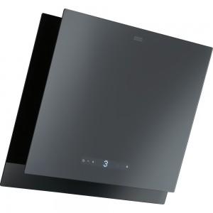Franke Wandhaube Maris 2.0 FMA 2.0 607 GR/BK 60 cm Glass Black/Grey 330.0549.979 (12136)