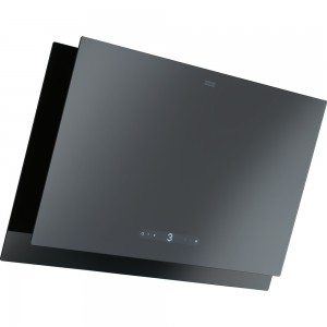 Franke Wandhaube Maris 2.0 FMA 2.0 807 GR/BK 80 cm Glass Black/Grey 330.0549.980 (11680)