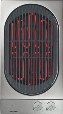 Gaggenau Vario Elektro-Grill VR230134 Aluminium-Bedienblende