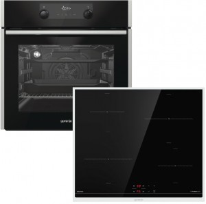 Gorenje Backofenset Black Pepper F5 best. aus: BO737E30XG + IT640BX