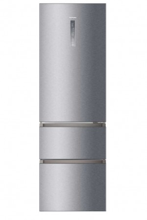 Haier Kühl-/Gefrier-Kombination Silber A3FE737CGJ