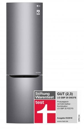 LG Kühl-/Gefrier-KombinationTotal No Frost GBP 20 DSCFS