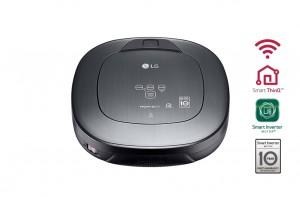 LG Hombot-Robotersauger Home View™ Home Guard™ VRH 950 MSPCM