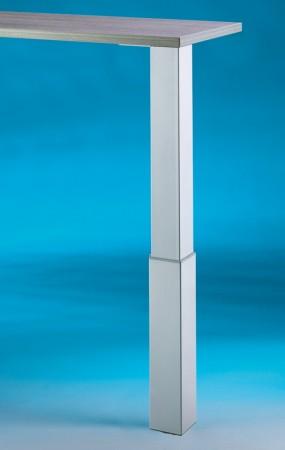 Naber Stützfuß Trampolo 2 eckig edelstahlfarbig 3011010
