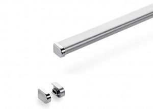 Naber Profileisten Set L 1200mm Linero 2000 Edelstahl 8047104