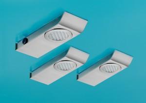 Lumica LED Leucht Cover 1 LED Set-3 S mit Schalter 4000 K 7063118