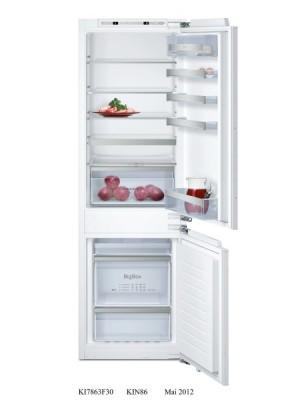 Neff Kühl-Gefrier-Kombination FreshSafe SoftClose KF736A2 KI7863D30