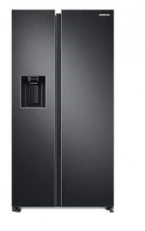 Samsung Side by Side Kühlschrank Premium Black Steel RS6GA8521B1/EG