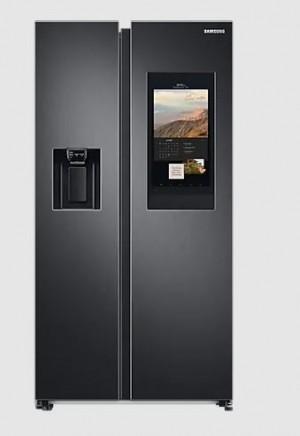 Samsung Side-by-Side Kühlschrank Premium Black Steel RS6HA8891B1/EG