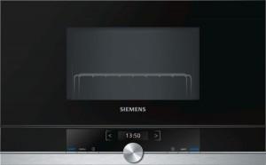 Siemens Einbaumikrowelle Edelstahl BE634LGS1