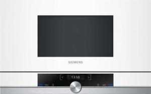 Siemens Einbaumikrowelle Weiß BF634RGW1