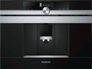 Siemens Einbau Kaffeevollautomat Schwarz CT636LES1