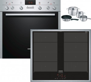 Siemens Herdset EQ251EVT3R best. HE23GU512 + EY645CXB1M  + HZ390042