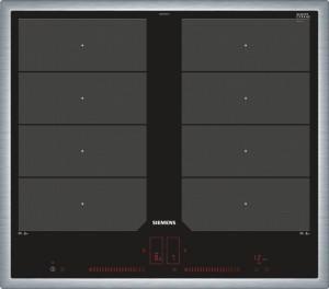 Siemens Induktions-Kochstelle 60cm Edelstahl Glaskeramik EX645LXC1E