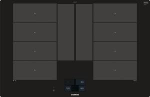 Siemens Induktions-Kochstelle 80cm flächenbündig EX801KYE1E
