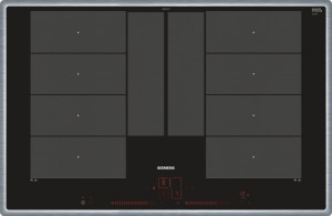 Siemens Induktions-Kochstelle 80cm Glaskeramik Edelstahl EX845LYC1E
