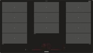 Siemens Induktions-Kochstelle 90cm Glaskeramik EX901LXC1E