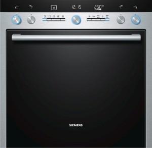 Siemens Einbauherd Edelstahl HE76GB560 EEK: A