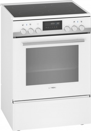 Siemens Elektroherd freistehend weiß HK9S7R220