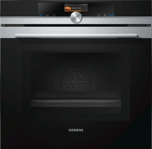 Siemens Backofen mit Mikrowelle Edelstahl HM676G0S6