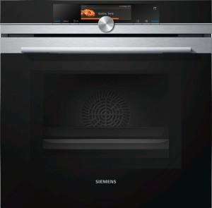 Siemens Mikrowellen-Backofen mit Dampfunterstützung HN678G4S1