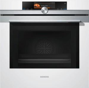 Siemens Einbaubackofen mit Mikrowelle HN678G4W1