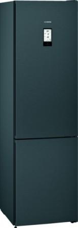 Freistehende Kühl-Gefrier-Kombination iQ700 blackSteel KG39FPXDA