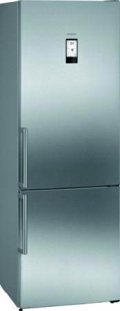 Siemens Kühl-/Gefrier-Kombination iQ 500 Edelstahl KG49NAIDP