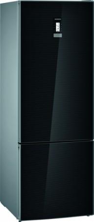 Siemens Kühl-Gefrier-Kombination iQ 700 Schwarz KG56FSBDA