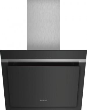 Siemens Wand-Esse 60cm schwarz mit Glasschirm LC67KHM60