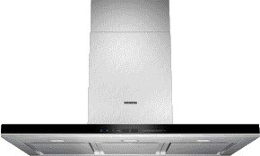 Siemens Wand-Esse Edelstahl 90cm LC91BA582