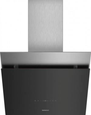 Siemens Wand-Esse 60cm Schwarz mit Glasschirm LC68KPP60