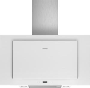 Siemens Wand-Esse 90cm Weiß mit Glasschirm LC97FLP20