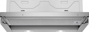 Siemens Flachschirmhaube 60 cm silbermetallic LI63LA525